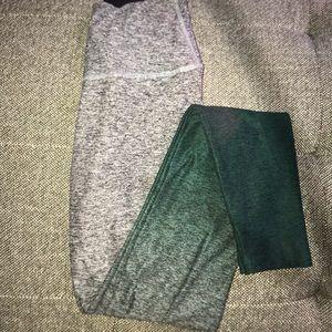 Beyond yoga leggings ombré green